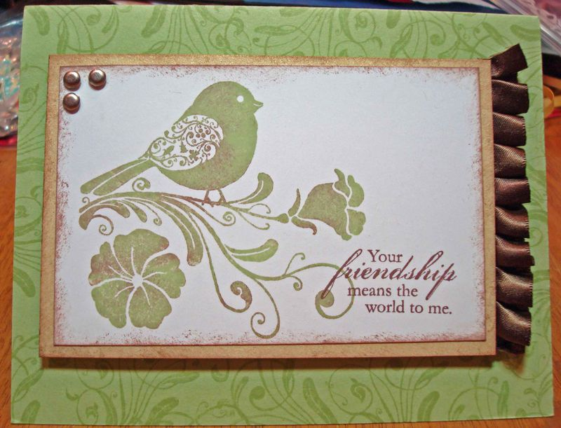 Friendship Card with Watermark